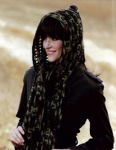 Maggie's Crochet · Hooded Scarves To Crochet