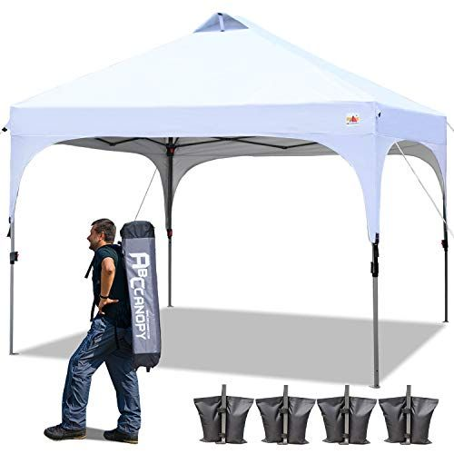 Abccanopy Canopy Tent 10x10 Pop Up Canopy Outdoor Canopies Super Comapct Canopy Portable Tent En 2020 Bar