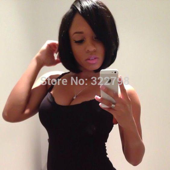 Excellent U Part Straight Bob And Wigs For Black Women On Pinterest Short Hairstyles Gunalazisus