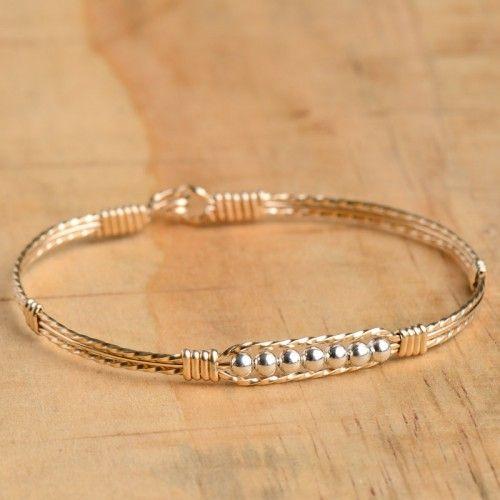 ronaldo gold with silver prayer bracelet