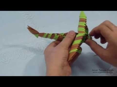 модульное оригами жираф пошаговая инструкция - фото 6