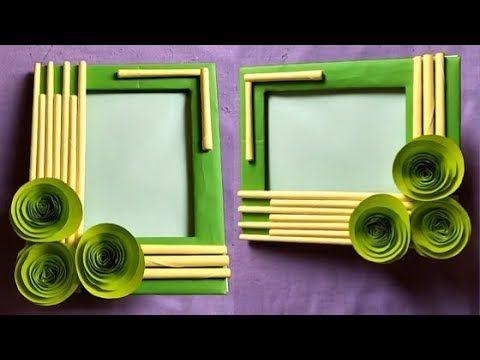 Cara Buat Bingkai Foto Dari Kardus Handmade Picture Frame Making