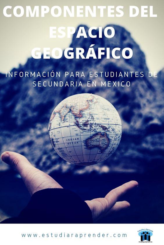 Componentes Del Espacio Geográfico