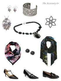 Start with a Scarf: Silvie Shadow by Ted Baker