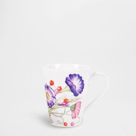 Caneca Flor Silvestre - Para Ela - Gift Ideas | Zara Home Brasil