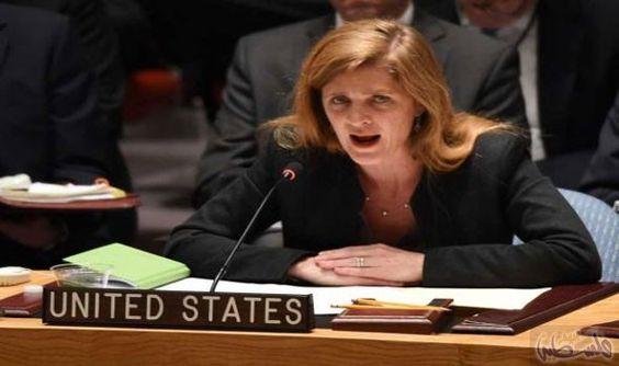 باور تؤكد أن واشنطن توافق على مشروع…: باور تؤكد أن واشنطن توافق على مشروع القرار بشأن سورية لإنهاء العنف
