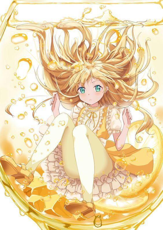 mỹ nhân trong lọ màu vàng   Manga anime, Anime, Kỳ ảo