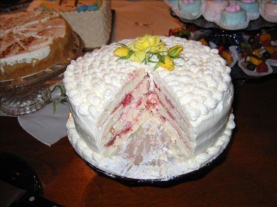 Diabetic Spring Fling Layered White Cake Recipe Cakes
