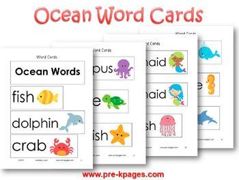 Ocean Literacy | Pocket charts, Language and Writing station