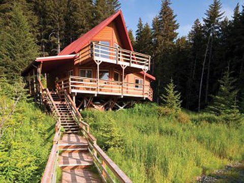 Tutka Bay Lodge Alaska Remote Rustic Fishing Lodge And