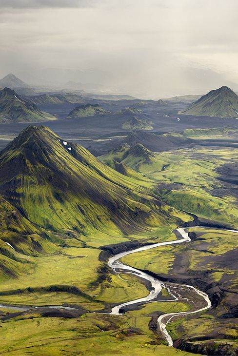 Iceland! Actually already been here, but this time, I'm getting some of that ash flavoured ice cream!