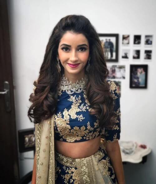 Elegant And Beautiful Briads For Daily Life Fashion Open Hairstyles Lehenga Hairstyles Saree Hairstyles