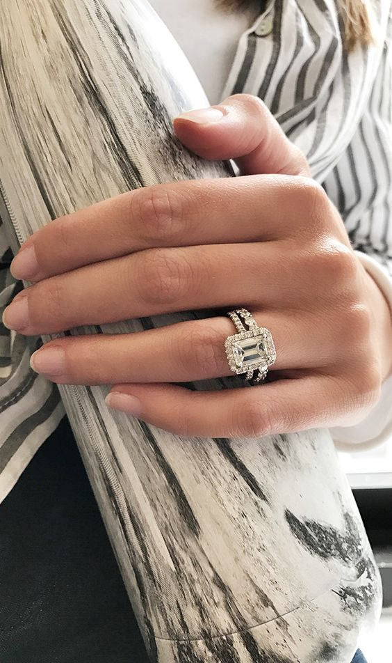 We're showing you the real engagement rings of the ladies from our very own office.