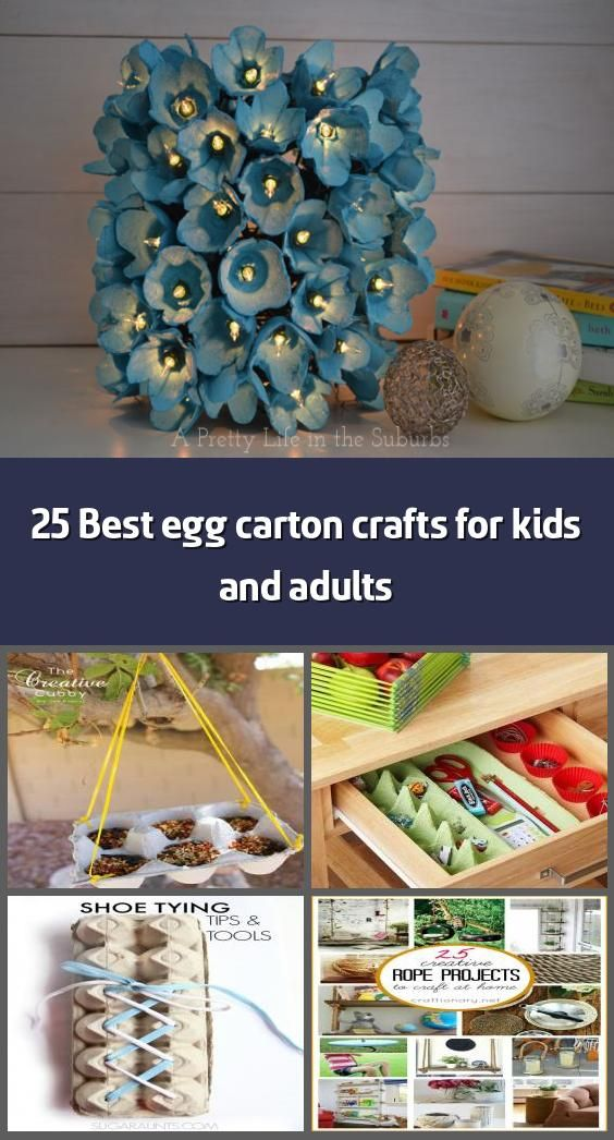 25 Best Egg Carton Crafts For Kids And Adults Do You Like Reusing And Recycling To Make Crafts Recycling Crafts Are Great For Kids And Some Are G In 2020 Askartelu