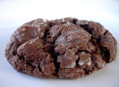 Chocolate Ooey Gooey Butter Cookies