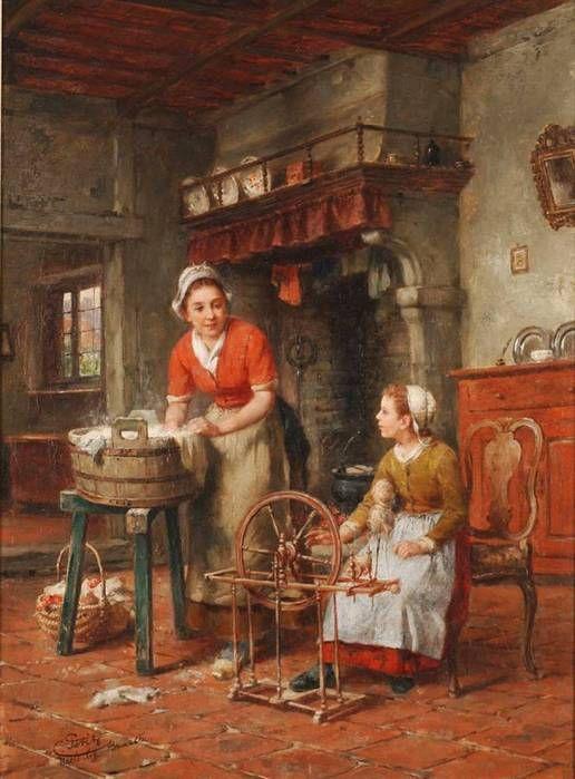 "Чарльз Петит ""Бабушкино прядильное веретено"""