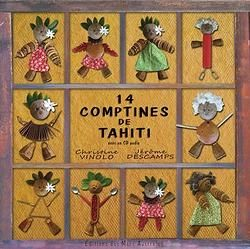 couverture du CD 14 COMPTINES DE TAHITI