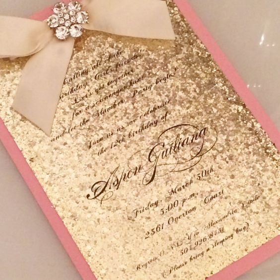 Sparkly Baby Shower Invitations as luxury invitation layout