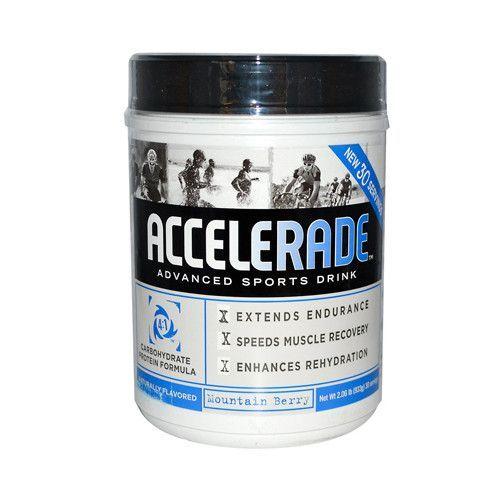 Endurox Accelerade Advanced Sports Drink Mountain Berry - 30 Servings