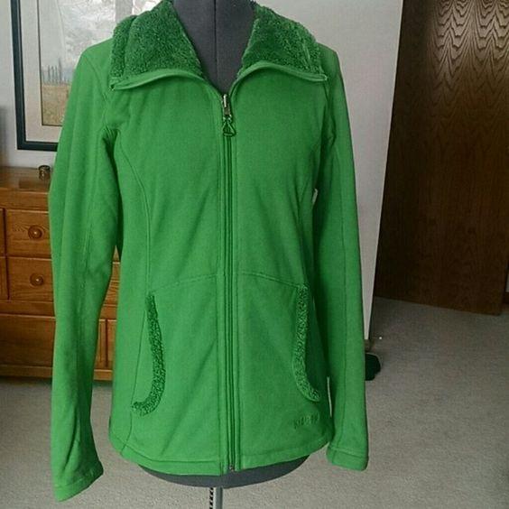 Reversible Green Koppen fleece jacket
