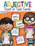 Adjective Scoot or Task Cards