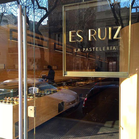 Ya abrimos! ES RUIZ LA PASTELERÍA y CHOCOLATE. Los esperamos en Centenera 534, en el barrio de Caballito  #esruizlapasteleria #esruiz #eduardoruiz #pasteleriadeautor #chocolate