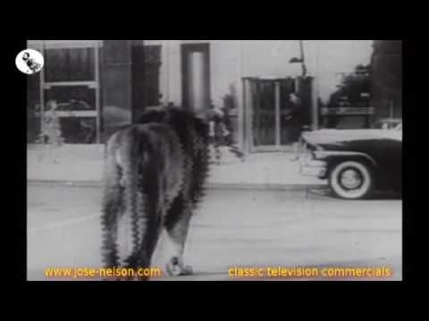 CLASSIC TELEVISION COMMERCIALS - DREYFUS FUND. INC. - 50s
