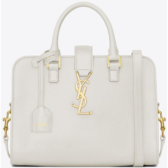 yves saint laurent cabas monogram small leather tote