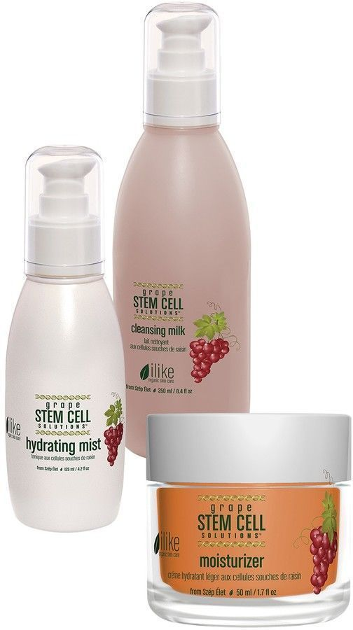 Ilike Organic Skin Care Ilike Organic Skincare Stem Cell Therapy For Aging Skin 3 Piece Set Organicskincare Organic Skin Care Routine Skin Care Stem Cells