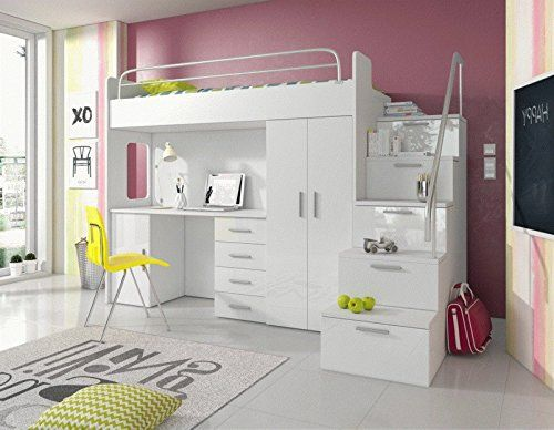 Elegante Flexa Hochbett Schreibtisch Hochbett Mit Schreibtisch