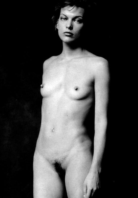 Beautiful mila jovovich fully nude this site allow