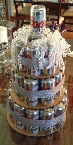 Coors Light Birthday Cake!