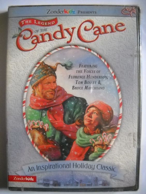 The Legend of the Candy Cane (DVD, 2002)