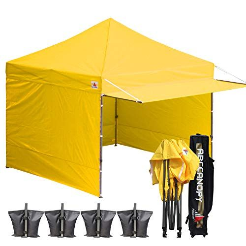 Cheap Abccanopy 10 10 Easy Pop Up Canopy Tent Instant Shelter Commercial Portable Market Canopy With Matching Sidewalls Weight Bags Roller Bag Bouns Canopy Aw Pop Up Canopy Tent Canopy Tent Tent