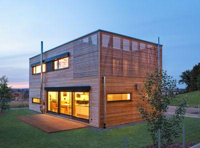 Voll-Werte-Passivhäuser erfüllt die hohen energetischen Anforderungen eines 1,5 Liter-Hauses