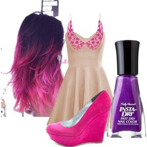 Love or Leave? : pink hair