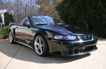 2001 Saleen supercharged convertible