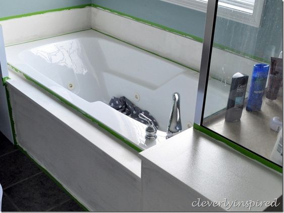 How To Paint Cultured Marble Tub Surround Cleverlyinspired 12 Marble Tub Tub Surround Cultured Marble