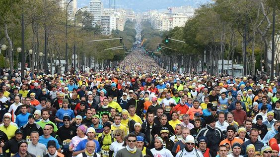 Marseille - Cassis 2013. 15000 coureurs