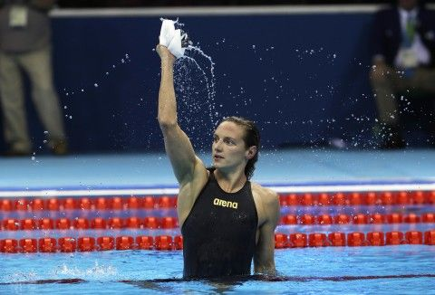 Swimming, Womens 100m Backstroke - Katinka Hosszú, Hungary - Rio Olympics 2016