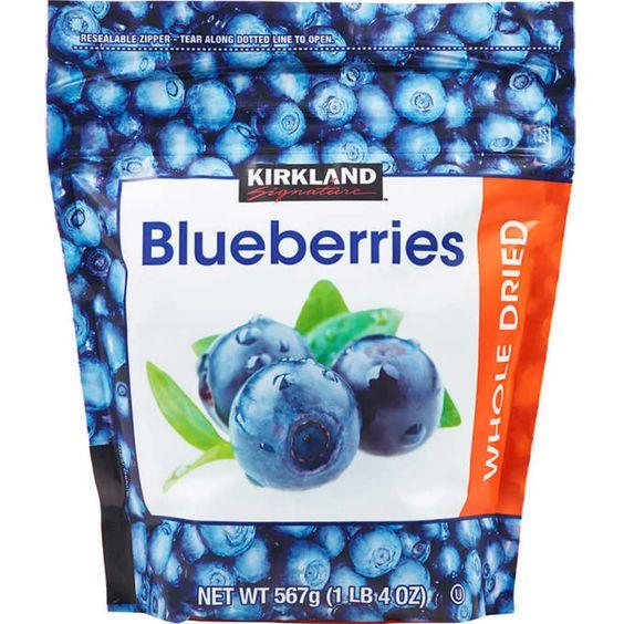 Kirkland Dried Blueberries
