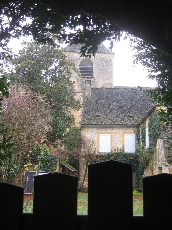 The village of Saint Genies in Perigord Noir