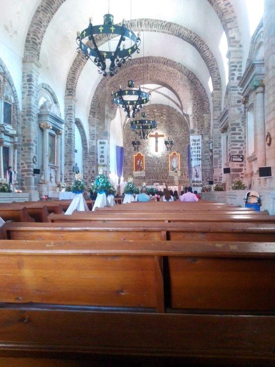 Iglesia de Huasca de Ocampo, Hidalgo México