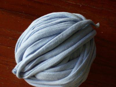 Easy T-shirt yarn tutorial!!