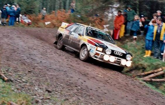 The Man!! - John Buffum Audi quattro America