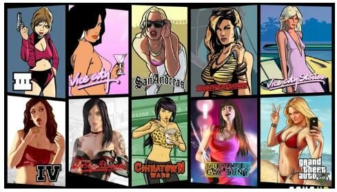 Whats your favorite cover girl from GTA franchise? | Gta san andreas, Gta,  Video games antigos