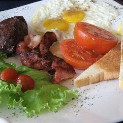 Breakfast Steak...it's more English style so I love it!