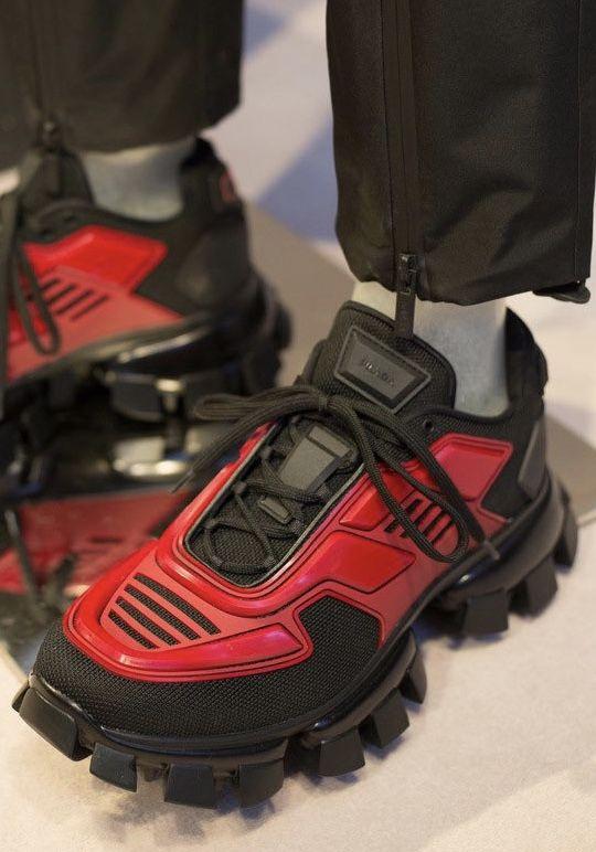 Prada sneakers, Prada menswear, Fall shoes