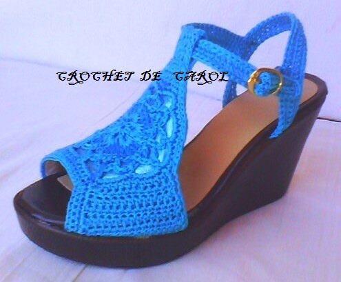 Sandalias De Ganchillo, Sandalia Tejidas, Zapatos Guaraches, Solo Zapatos, Calzados Ganchillo, Sandalias Crochet, Botas Tegida, Calzado Crochet,
