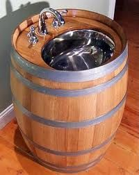 this would be great for a backyard sink